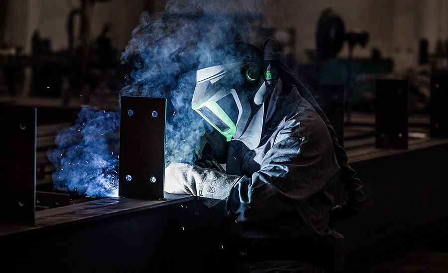 Innovative respiratory protection for welders
