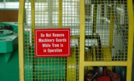 Machine guarding: Compliance problems continue