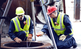 How to monitor workers in a confined space