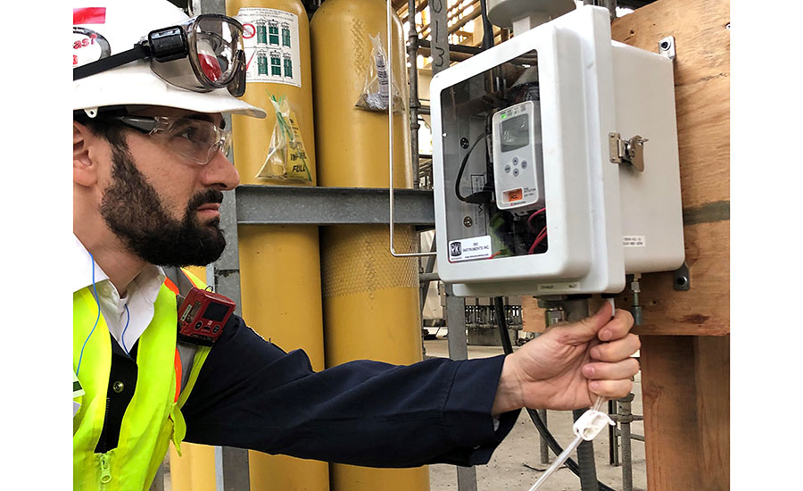Portable gas monitors benefit from wireless technology