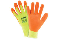 High-visibility gloves