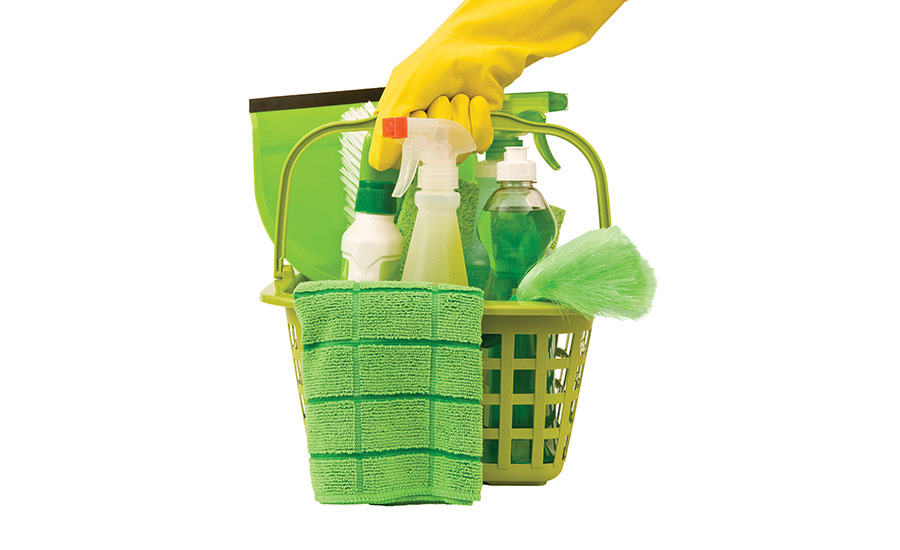 green janitorial supplies