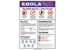 Ebola posters