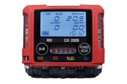Lightweight 4-gas monitor