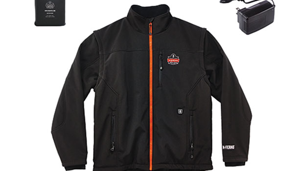Battery-operated  heated jacket