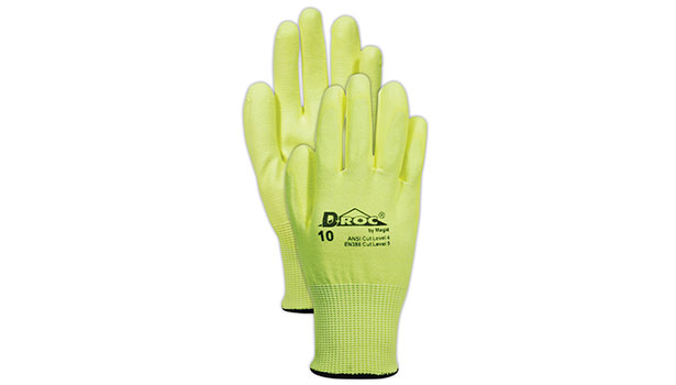 High-visibility  work gloves