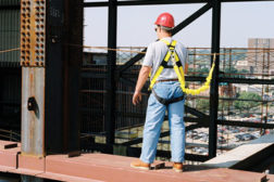 ANSI fall protection code