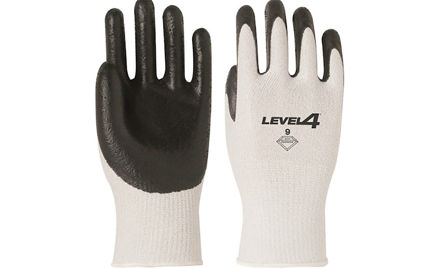 ANSI Level 4 cut-resistant glove