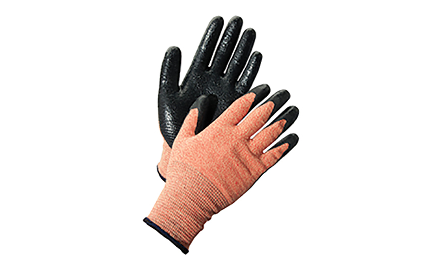 High-heat level glove