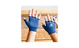 Anti-impact glove liner