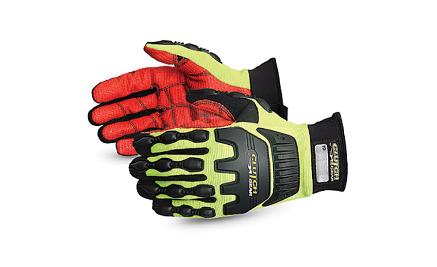 High visibility  impact-resistant gloves