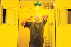 emergency showers and eyewashes
