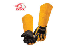 Stick welding glove