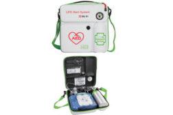 AED & emergency oxygen in wall case