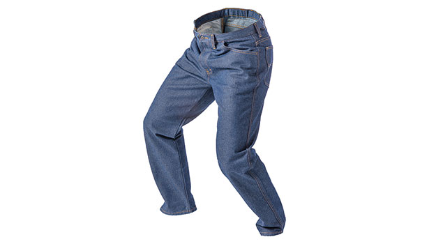 5-pocket denim jean