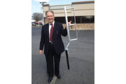 Portable ladder from Ellis Fall Safety Solutions