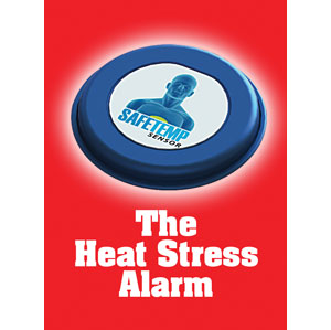 Heat stress alarm