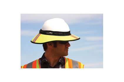 Hard hat visor