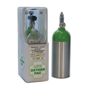 emergency oxygen wall case