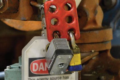 Lockout/tagout procedures