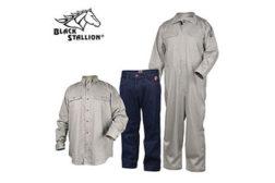 Flame-resistant apparel