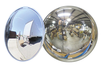 why convex mirror are used in rear view