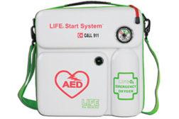 AED & emergency oxygen unit