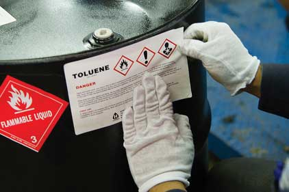 hazcom labeling requirements