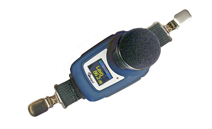 Noise dosimeter with Bluetooth