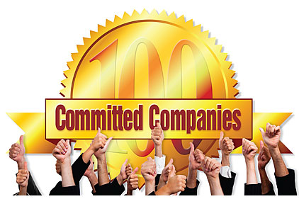 100 committed companies