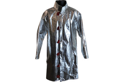 Aluminized apparel takes the heat