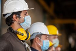 Manufacturing safety face masks
