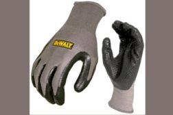 "DEWALT Ultradexâ""¢ Dotted Nitrile Dip Glove"