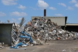 a recycling facility
