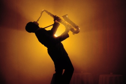 saxaphone player