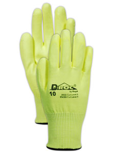 Magid high-visibility work gloves
