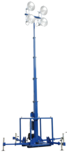Larson Electronics skid mount light mast