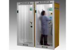HEMCO Shower Decontamination Booth
