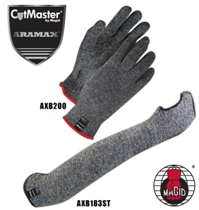 Aramax and Aramax XT gloves and sleeves