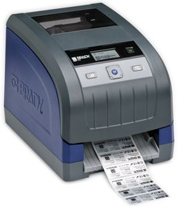 The BBP33 industrial label printer.