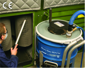 Heavy Duty HEPA Vac from EXAIRE