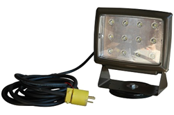 Magnetic mount LED work light from Larson Electronics
