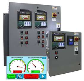 Touch Screen Controller from Camfil Air Pollution Control