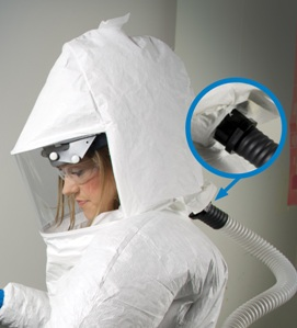 T-Series Quick Attach Respirator Hood