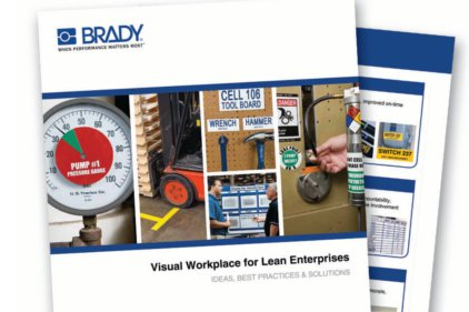 Brady Visual Workplace Visual Workplace for Lean Enterprises Catalog