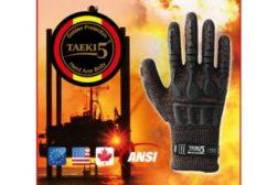 New Taeki5 Impact Protection Glovewer with folding boom