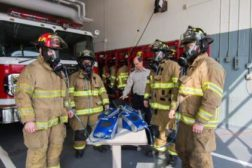 FitPro testing with firefighters