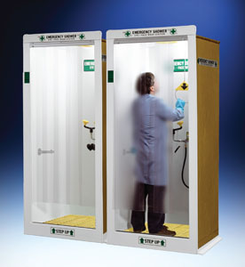 HEMCO Emergency Shower Decontamination Booth