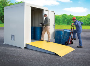 ... storing flammables and hazardous materials in rugged FM-approved Outdoor Safety Lockers. Proper chemical storage reduces poison hazards and accidents ... & Safely store hazardous materials outdoors | 2015-04-07 | ISHN