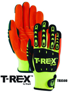 TRX500 Machine Knit Impact Work Gloves